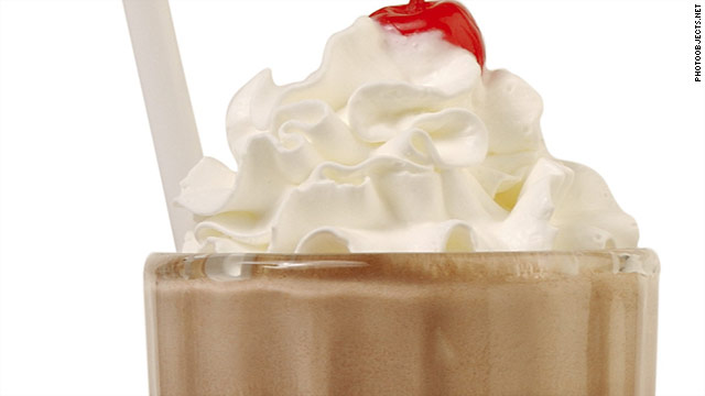 Breakfast buffet: National chocolate milkshake day