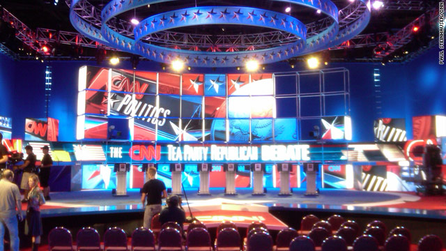 Preparations underway for 'Tea Party Republican Debate'
