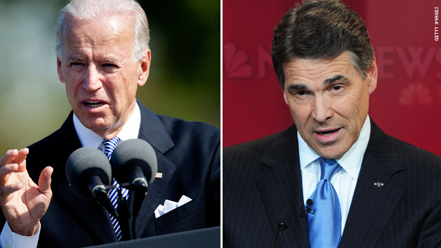 Biden discounts Perry's 'Ponzi scheme' remark on Social Security