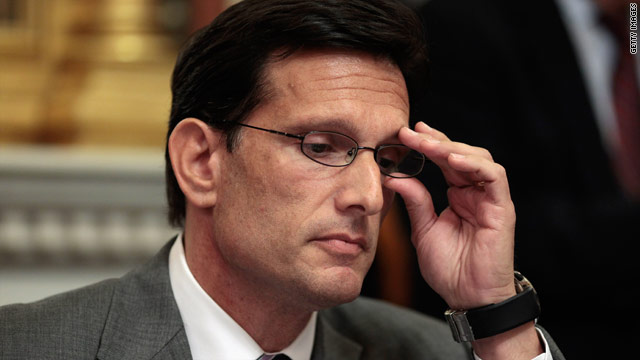 Cantor says no to jobs bill spending