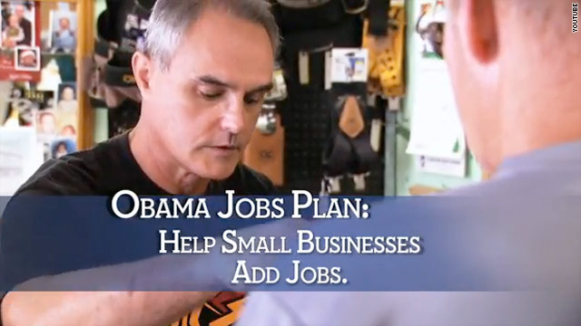 DNC takes out large ad buy to back Obama&#039;s jobs plan