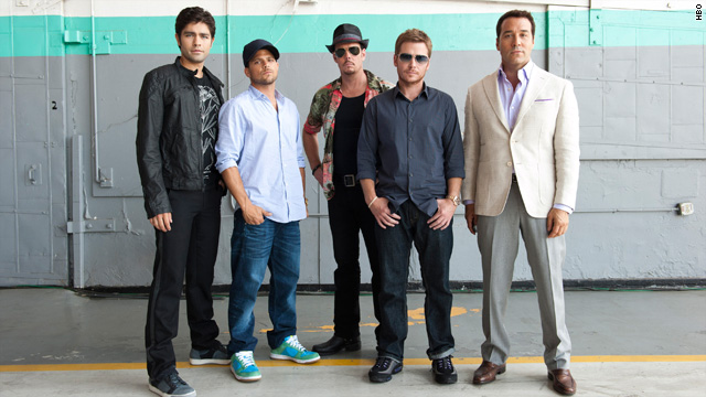 Cast Photo of Entourage