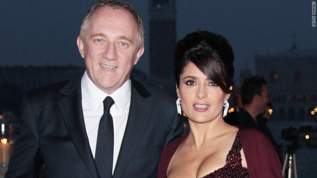 Salma Hayeks husband breaks his silence