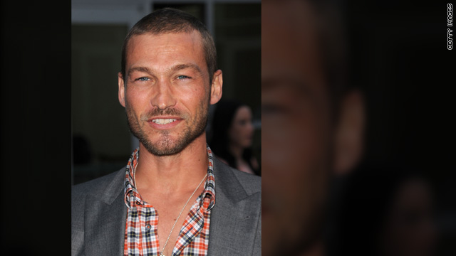 &#039;Spartacus&#039; star Andy Whitfield dead at 39
