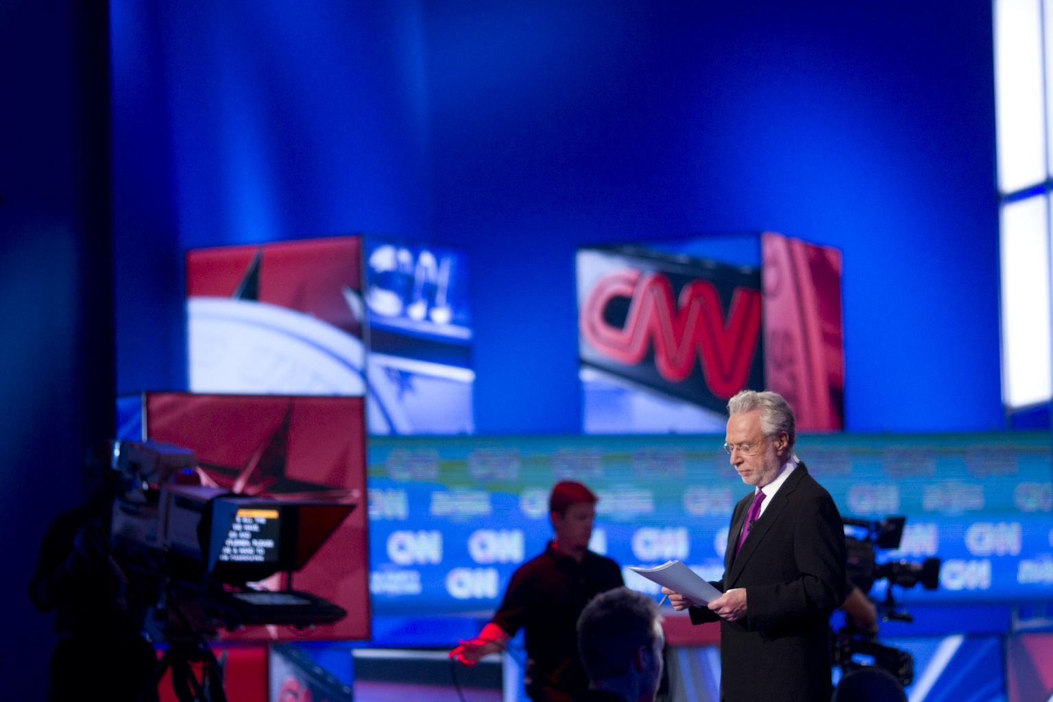 BLITZER'S BLOG: More goes into moderating a debate than meets the eye