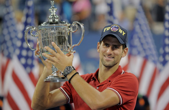 Novak Djokovic has won three Grand Slams in 2011 and lost only two matches. (Getty Images)