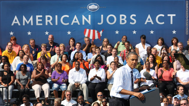 Pres. Obama sells jobs plan: School Modernization