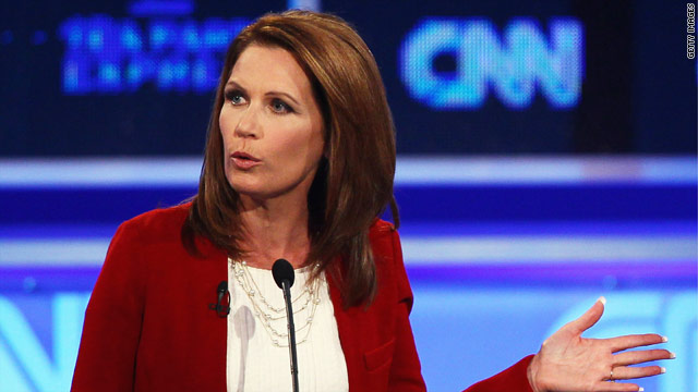 Bachmann stands ground, bashes Obama debt plan