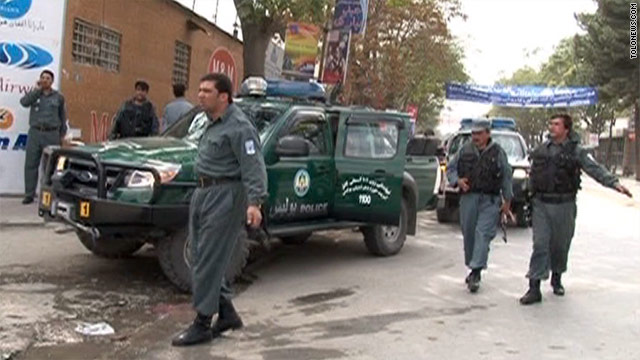 3 police, 1 civilian killed in Taliban attacks in Kabul