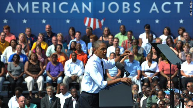 Obama open to signing &#039;a portion&#039; of jobs bill