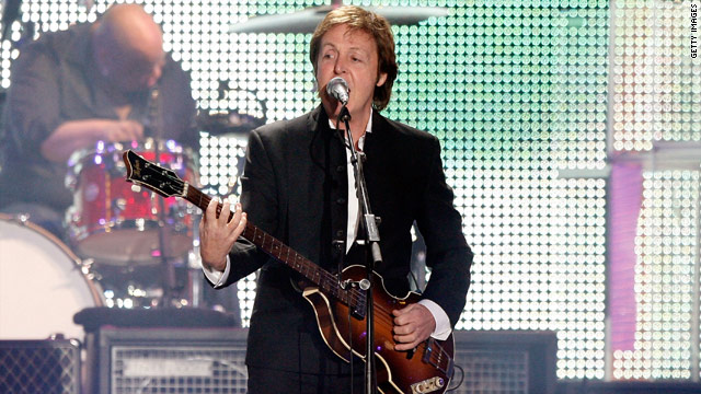 Paul McCartney is MusiCares Person of the Year