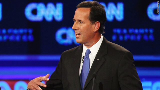 Santorum: I feel like I'm on 'Survivor'