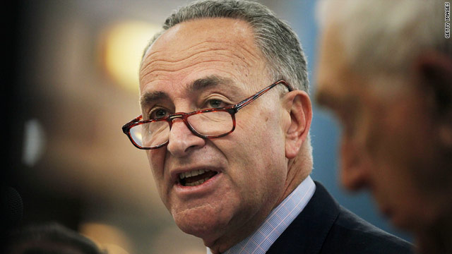 Schumer: Putin 'aiding and abetting Snowden's escape'