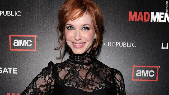Christina Hendricks reveals Emmys date
