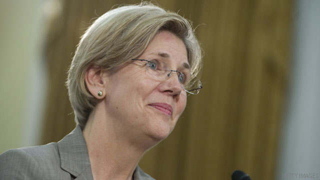 Warren explains Native American listing was to meet people