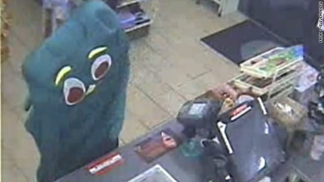 Police: Alleged Gumby bandit turns self in
