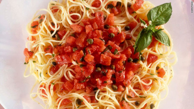 Breakfast buffet: National linguine day