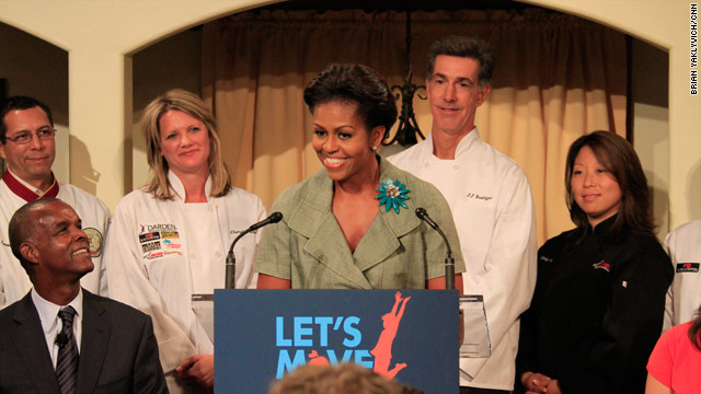The never ending pasta bowl goes healthy with the first lady