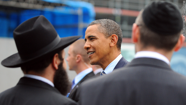 How can President Obama save the Jewish vote?