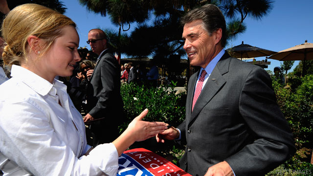 Perry picks up 27 N.H. state reps