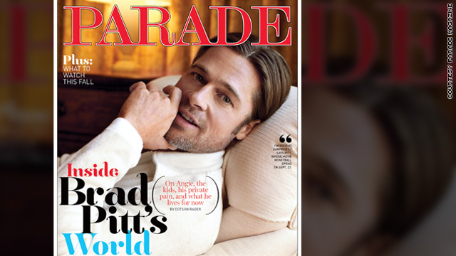 Brad Pitt: I'm so happy to have Angelina