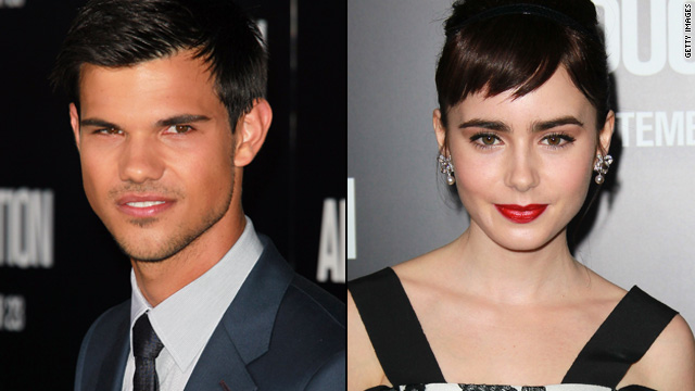 Taylor Lautner 'protective' of Lily Collins on 'Abduction' set