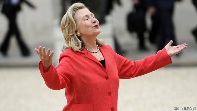 Poll: Americans optimistic about Hillary Clinton presidency