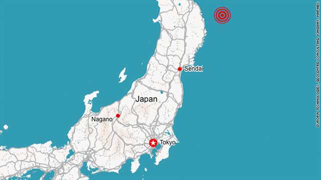 6.6-magnitude quake hits Japan