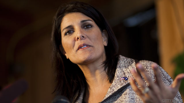 South Carolina Gov. Nikki Haley to seek re-election