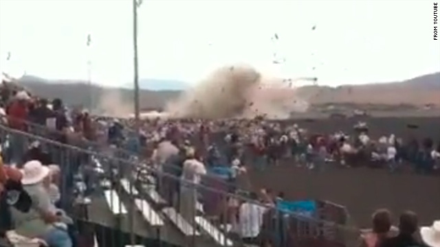 Plane crashes near spectators at Reno air races