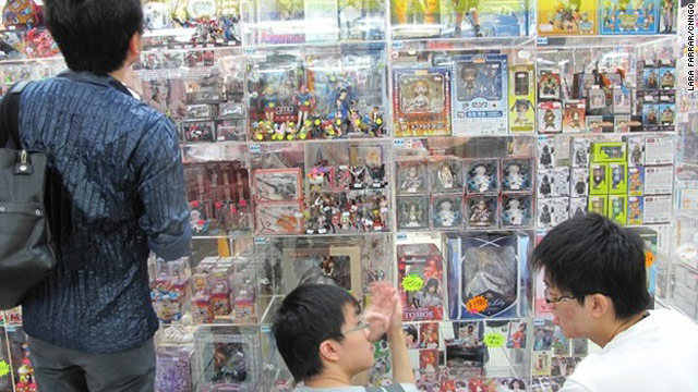 Taipei's underground gamer and geek heaven