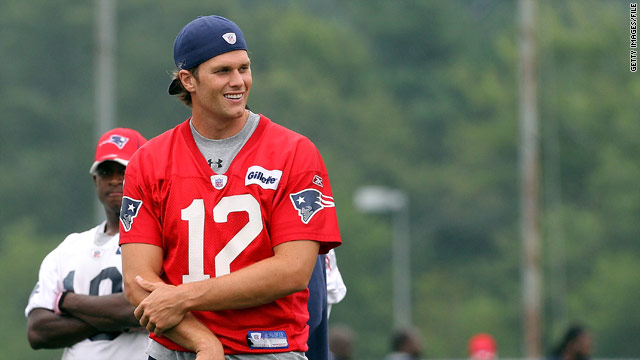 Tom Brady wants fans to drink up (water, of course)