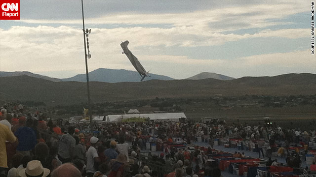 Plane crashes into spectators at Reno air show