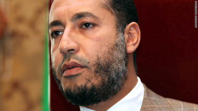 Niger won't hand over Saadi Gadhafi, official says