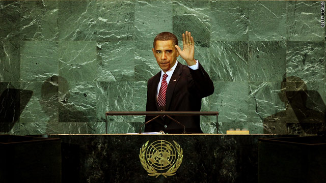 Obama confronts a noisy United Nations General Assembly