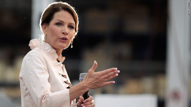 Bachmann aide arrested, charged with theft