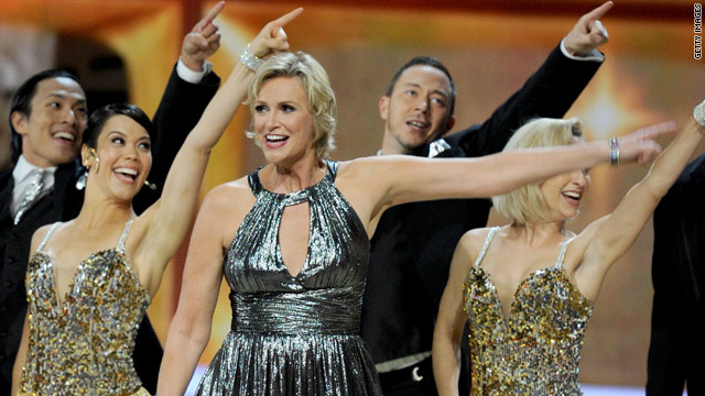 What's the verdict: Jane Lynch as Emmys host