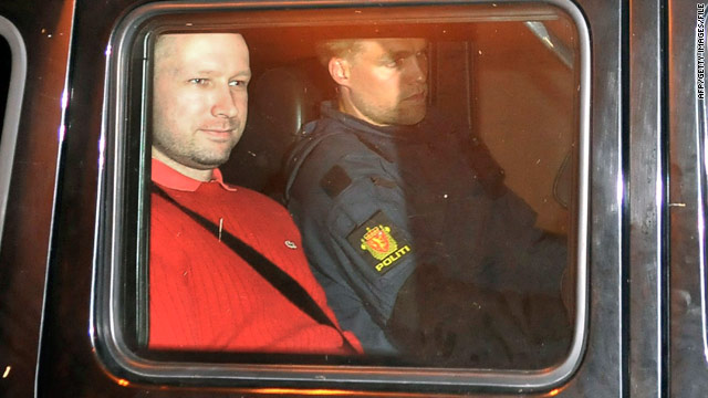 Police: Norway mass murder suspect insane, cannot be sentenced to prison