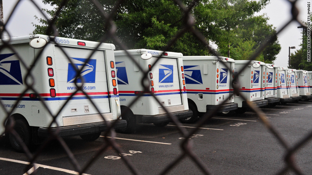 U.S. Postal Service loses $5.1 billion