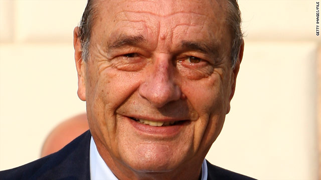 Prosecutor asks to drop corruption charges against Jacques Chirac