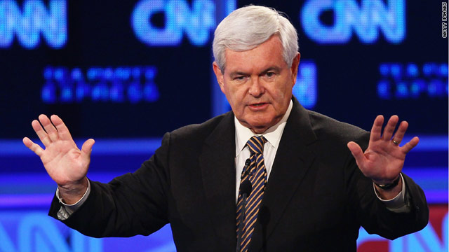 Gingrich lauds his 'very visionary' new 'Contract with America'