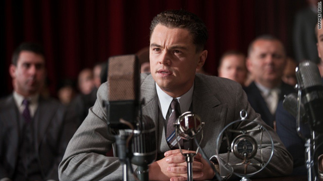 DiCaprio steps into character in 'J. Edgar' trailer