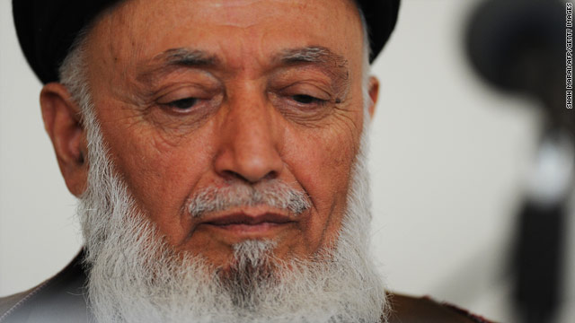 Analysis: Afghan assassination means Taliban 'want war, not peace'