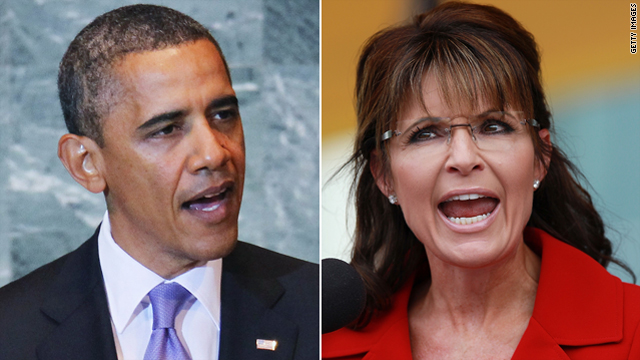 What does it say about Obama's '12 chances if Palin's within 5 points of him in one poll and she's not in the race?
