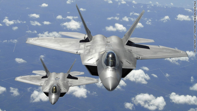 F-22 maker launches Twitter defense over recent negative reports
