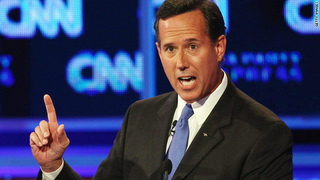 Santorum officially a candidate in New Hampshire