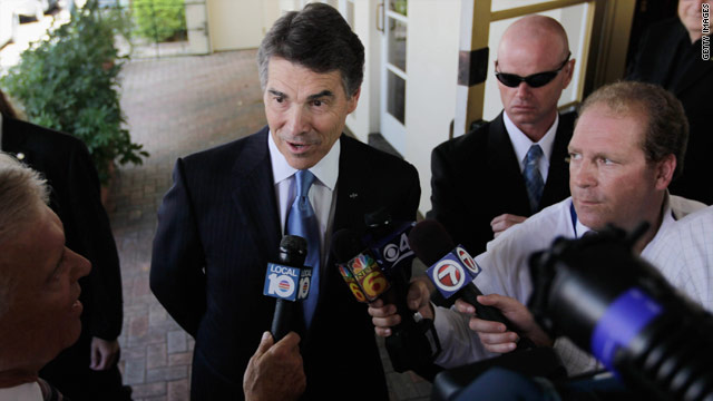 Perry&#039;s Middle East stance both religious and political