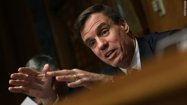 Warner joins fellow senators supporting same-sex marriage