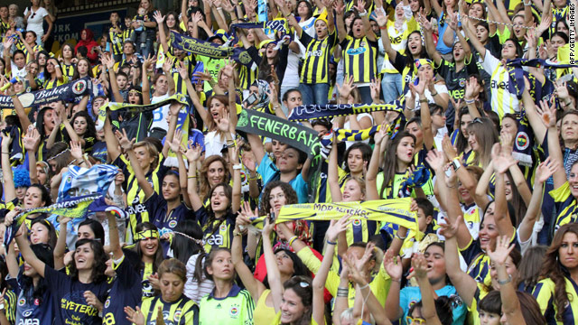 Only women, kids allowed into Turkish soccer game