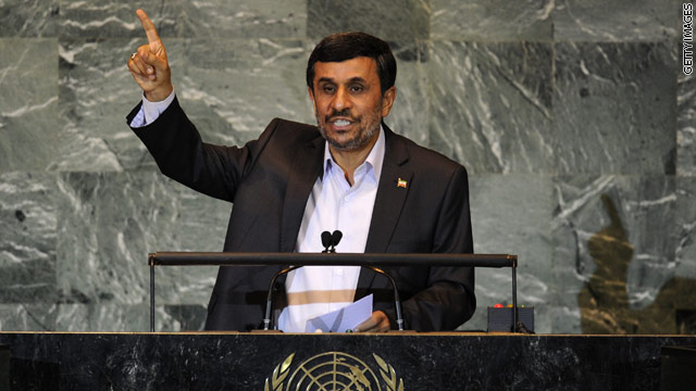 BLITZERS BLOG: My chance to chat with Iranian Pres. Ahmadinejad